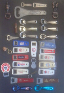 BEEFEATER ICE BUCKET MILLER PHONE PATCHES OPENERS BAR ITEMS