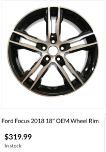 Ford Focus ST 18inch OEM wheels