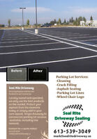 GREAT WEEKEND TO ADD CURB APPEAL TO YOUR BUSINESS PARKING LOT