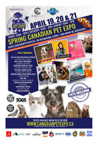 Spring Canadian Pet Expo!
