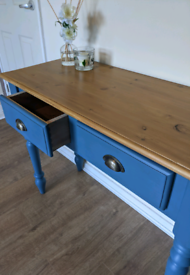 Refurbished Solid Wood Console Table