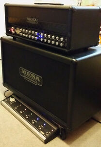 "10/10  Mesa Roadster Head and 2x12"" V30s Mesa Horizontal Cabinet"