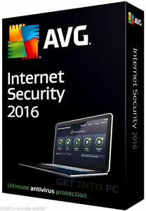 Avg Internet Security 2016...2 Years Protection. 1 Computer