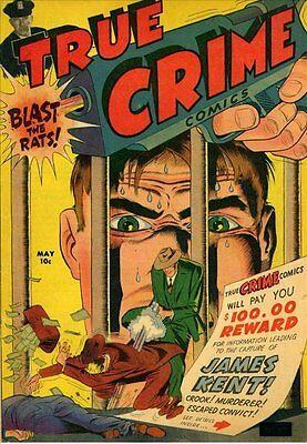 True Crime Comics #2 Photocopy Comic Book