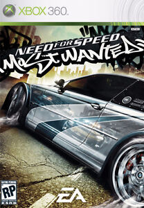 Wanted - Need For Speed 2005 xbox 360