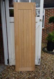 Geneva Internal Cottage Oak Veneer Door 5 Panel