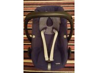 OFFICIAL MAXI COSI PEBBLE REPLACEMENT/SPARE COVER SET IN NAVY BLUE!!