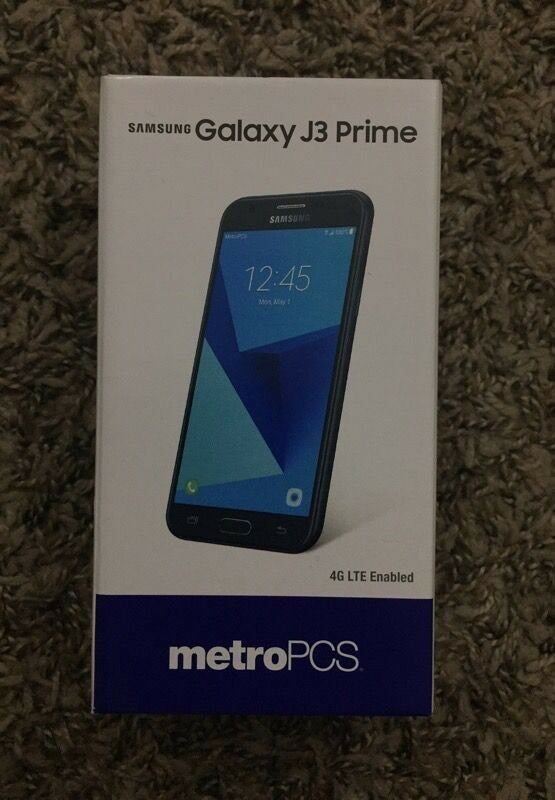 SAMSUNG GALAXY J3 PRIME UNLOCKED BRAND New Boxed | in