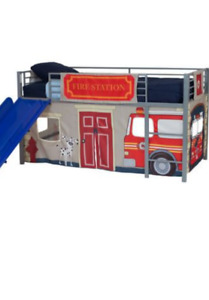 Curtain Set for Kid's Loft Bed