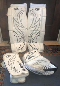 McKenney Youth Goal Pads, Blocker and Catcher