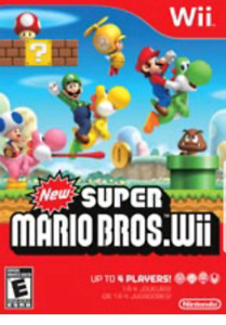 Looking for - Wii & Super Mario bros