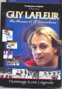 Guy Lafleur histoire sur dvd  legende du hockey