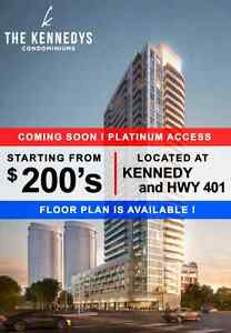 The Kennedy condos Pre-Construction by invitation few units