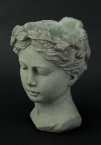 Greek Lady Head Planter