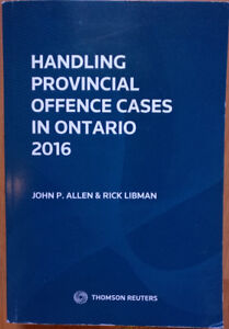 Handling Provincial Offence Cases in Ontario