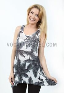 Vocal Palm Tree Top. New with Tags! Size S - XL