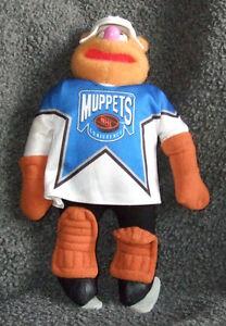 MUPPET HOCKEY - Fozzie doll Strathcona County Edmonton Area image 2