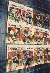 6 2010 Topps Gridiron Lineage Football Cards - 1 Chrome