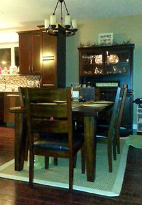 Ashley Furniture Table and 6 chairs