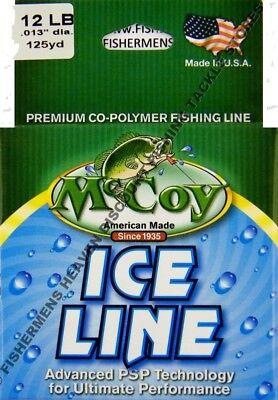 McCoy XTRA CLEAR Co-Polymer 8# 1000yd Bulk Spool Fishing Line & Leaders Monofilament Fishing Line