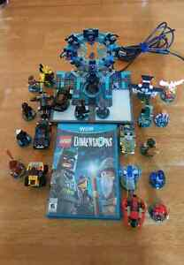 Wii u lego dimensions game and figures