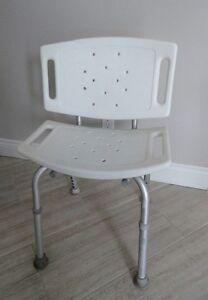 Chaise et 2 barres d'appui pour le bain Safety chair & bath bars