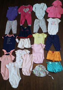 6-Month Size Baby Girl Clothes - $50 for all