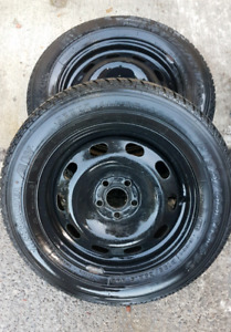 195/65/15 All Seasons/VW Rims