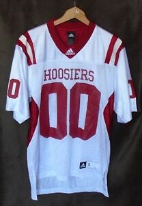 ADIDAS PRACTICE FOOTBALL JERSEY INDIANA HOOSIERS NEW NO TAGS