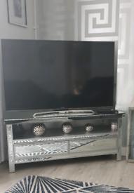 Mirrored tv unit(READ DESCRIPTION)