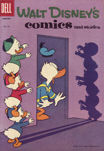 3 Disney Dell Comic Books