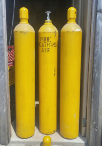 SCBA / SCUBA Storage Tanks for compressed breathing air