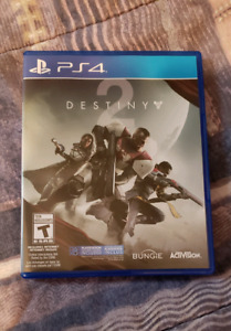Destiny 2 in mint condition for sale.