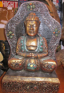 Buddha Painted with Mirrors