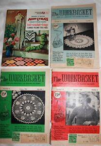 Vintage craft sewing Magazine aunt lydia's Work Basket Craft!!! West Island Greater Montréal image 1