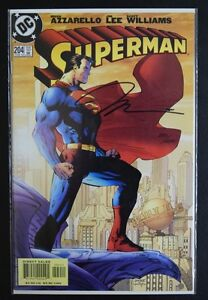 Superman #204 Comic Book Signed by Jim Lee Certified 293/4000