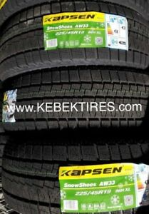 4 PNEUS USAGE KAPSEN HEADWAY USED TIRE 205/60R16 ETE 4SAISON $99