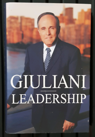 Giuliani Leadership Hardback