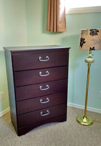 Large Dresser & small shelf - can be separate