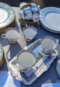 "Royal Albert ""Silver Birch"" china"