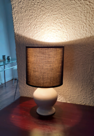 Lamp with Lampshade: open to offer