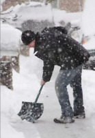 Snow shoveling in the ferris area