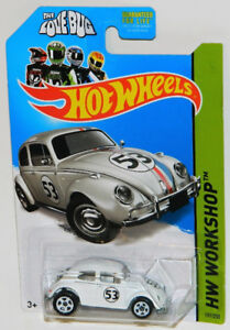 Hot Wheels 1/64 The Love Bug Volkswagen Beetle Diecast Car