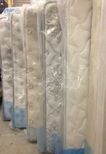 BRAND NEW MATTRESSES & BOXSPRINGS, ALL SIZES AVAILABLE