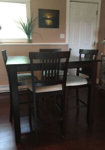 Pub Table and Chairs $150 OBO