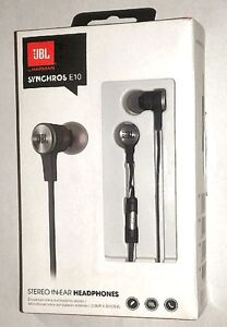 NOB JBL Synchros E10 In-ear Headphones with 1 Button Remote/mic
