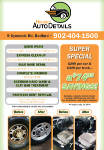 Vehicle Detailing- June Special