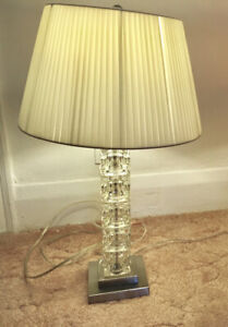 Interior designer-selected table lamp in good working condition