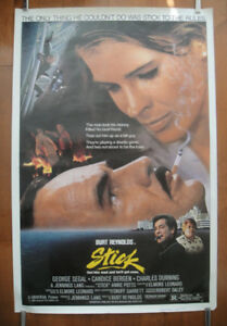 Stick (1984) Original Rolled Movie Poster - Burt Reynolds