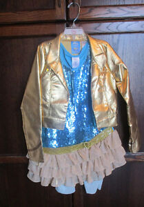 Hannah Montana concert costume from Disney store size S (7/8)